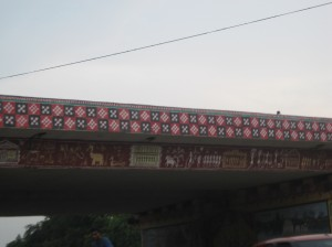 The Pasapalli pattern on an Over-bridge